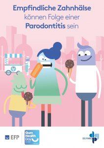 Empfindliche Zahnhälse können Folge einer Parodontitis sein